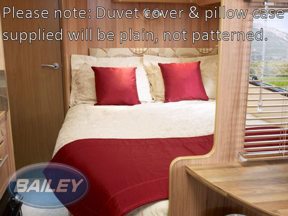 Bedding Set for Fixed Bed in Unity N/S Plain Duvet product image