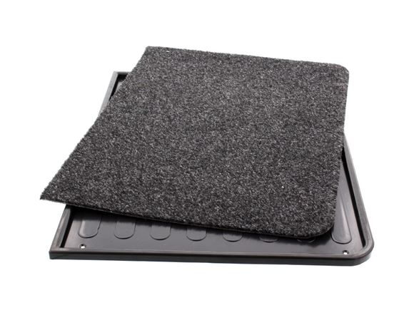 Black Safety Tray and Plain Door Mat (Oblong) product image