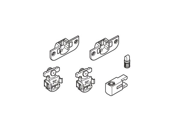 UN4 AH2 Sliding Washroom Door Fittings (Set) product image