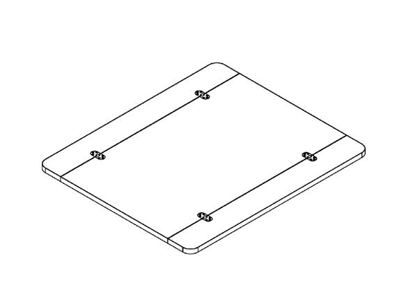 AG1 Folding Freestanding Table Top Kit product image