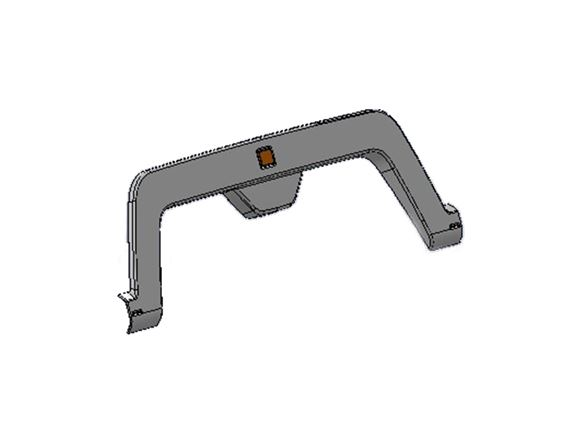 UN4 Double Wheel Arch Spat Assembly product image