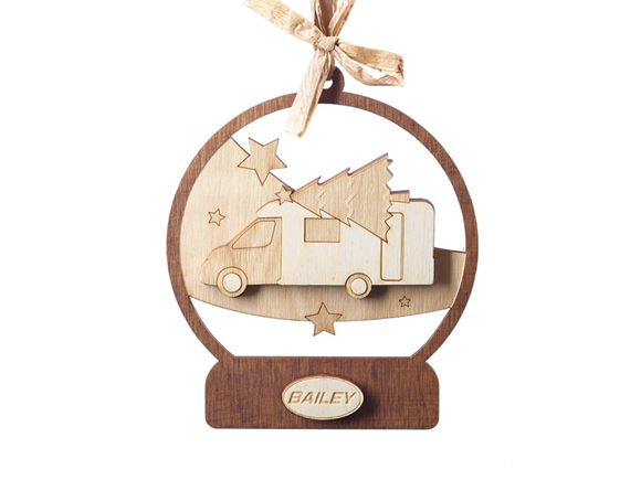 Bailey Motorhome Limited Edition Christmas Bauble product image