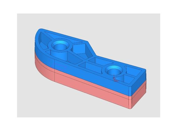 Header Extrusion Cap Mid Brown product image