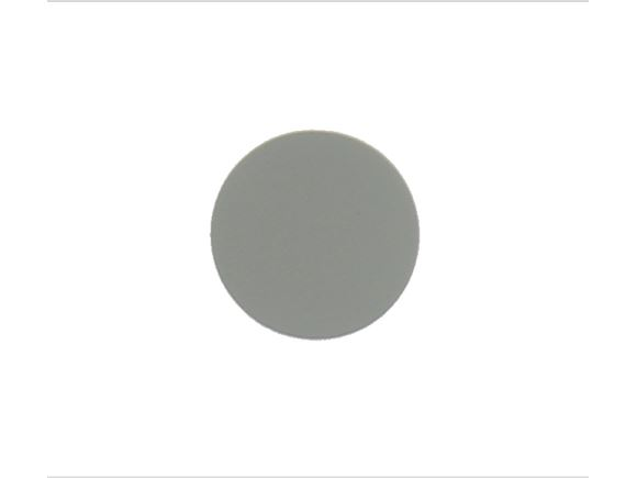 Screw Cap Covers Stone Grey Suedette 19mm product image