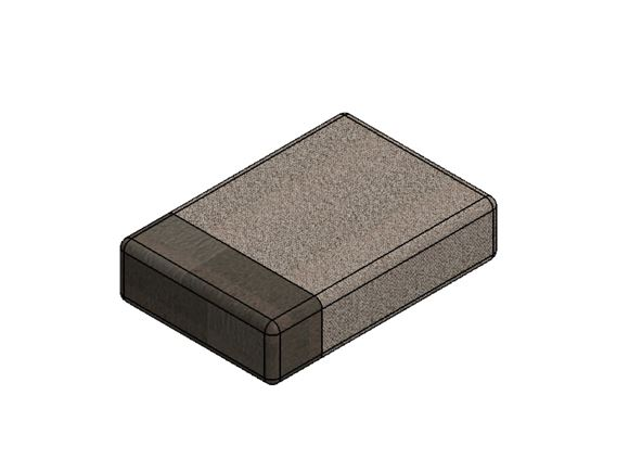 PS6 Grande Bulkhead Base Cushion 407x595x140mm product image
