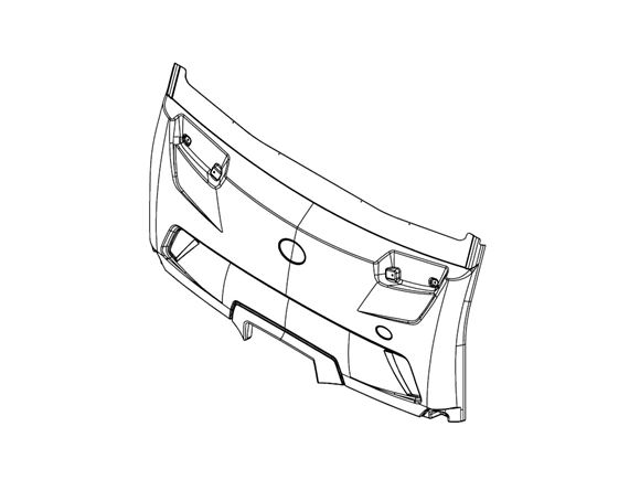 PX1 Front Bumper product image