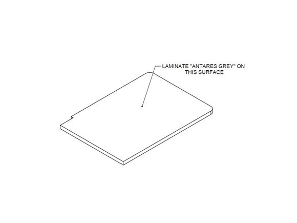 AL1 76-2 & 76-4 Gas Box Worktop (Revision A01) product image
