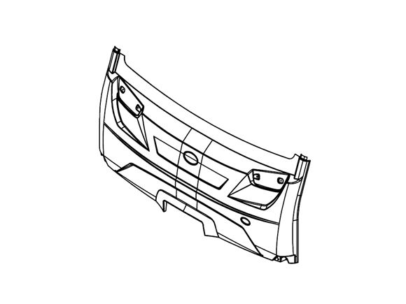 PS6 AG1 Grande Front Bumper product image