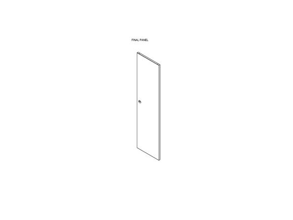 DY1 D4-2 Washroom Door (Revision A04) product image