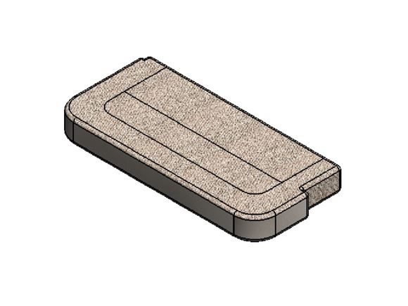 Read more about AH3 79-2F N/S Base Cushion - Farringdon product image