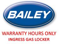 Warranty Hours Only – Ingress Gas Locker