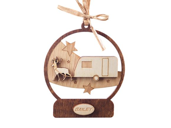 Bailey Caravan Limited Edition Christmas Bauble product image