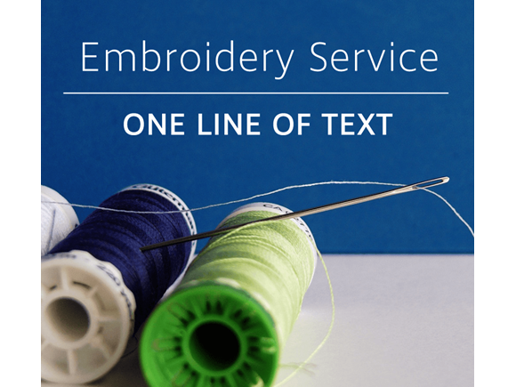 Embroidery – One line of text product image