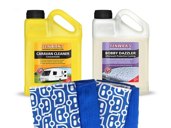 Fenwicks Caravan Cleaner & Bobby Dazzler Bundle product image