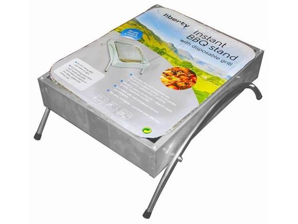 Instant BBQ Stand with Disposable Grill (x1) product image