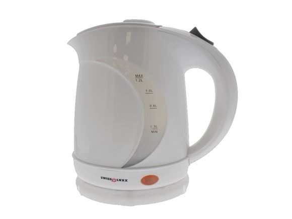 Swiss Luxx 1.2Ltr Low Wattage Kettle - White product image