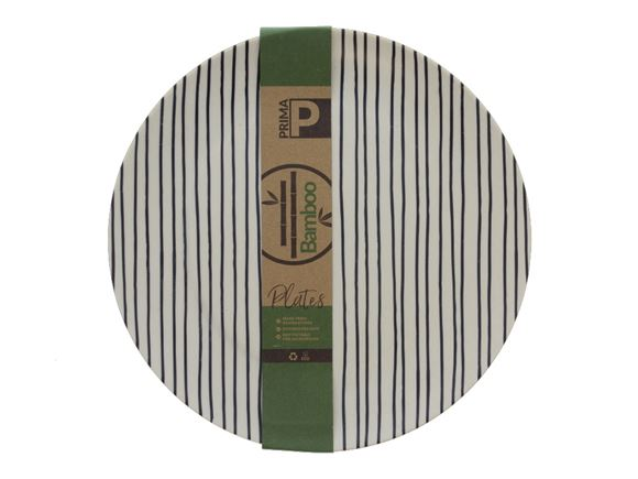 Bamboo Large Plate Set - Linear product image