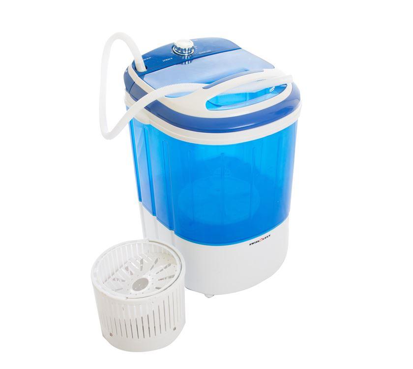Swiss Luxx Dual Tub Portable Washing Machine Prima Leisure