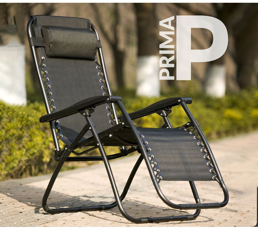 Super Prima Folding Recliner Camping Chair Black Prima Leisure Ocoug Best Dining Table And Chair Ideas Images Ocougorg