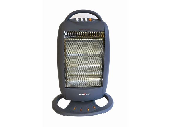 Swiss Luxx 400/800/1200W Quartz Portable Heater product image