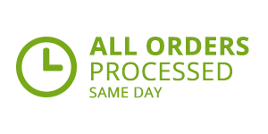 All orders processed same day*