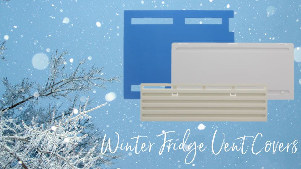 Winter Fridge Vent Covers